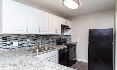Kitchen, Aspen Court Apartments, 0