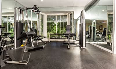 Fitness Weight Room, Echelon Glen, 2