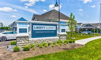 Community Signage, Liberty Summit, 2