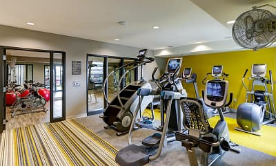 Fitness Weight Room, Junction Flats, 2