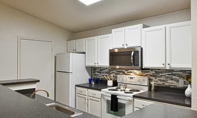 Kitchen, Enclave at Lake Underhill, 1
