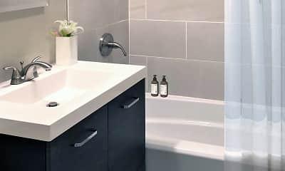 Bathroom, Sparta Apartments, 2