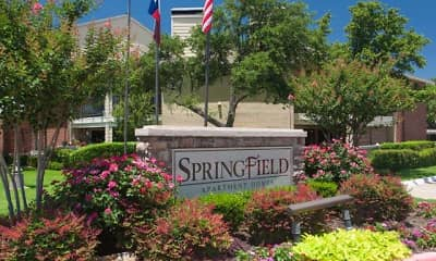 Community Signage, Springfield Apartments, 2