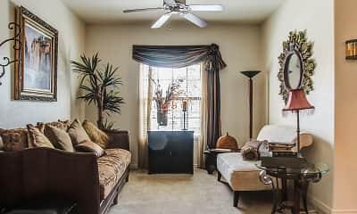 Living Room, The Tuscany at Mesa Hills, 0