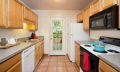 Kitchen, LUX13 - Per Bed Lease, 2