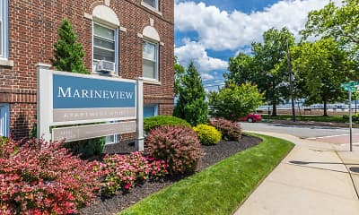 Community Signage, Marineview Apartments, 0