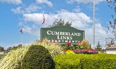 Community Signage, Cumberland Links, 2