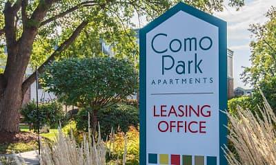 Community Signage, Como Park Apartments, 2