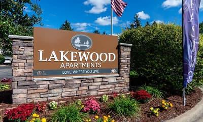 Community Signage, Lakewood, 0