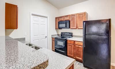 Kitchen, Buchanan Way Apartments, 0
