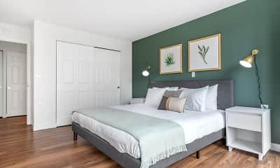 Bedroom, Christopher Columbus Plaza, 1