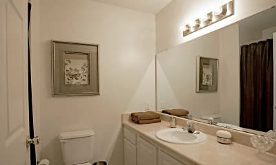Bathroom, Palmetto Place, 2