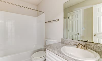 Bathroom, Bristol Creek Apartment Homes, 2