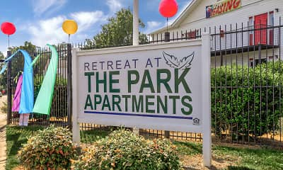 Community Signage, Retreat at The Park, 0