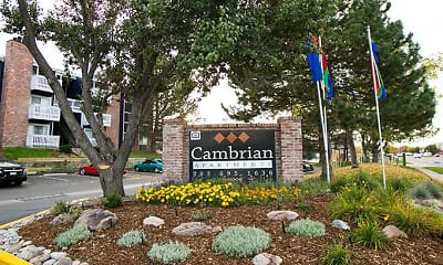Community Signage, Cambrian Apartments, 1