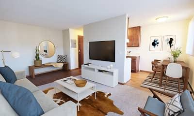 Living Room, L7 Flats, 1