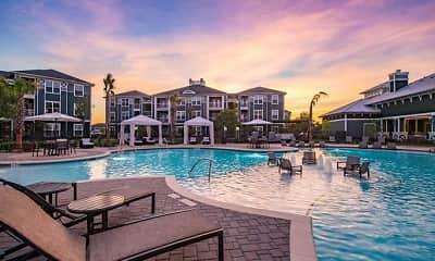 Pool, Southfork Lake Apartments, 0