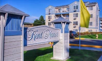 Community Signage, Kent Manor, 0