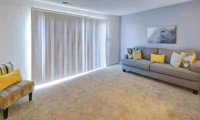 Living Room, Country Lake Townhomes, 0