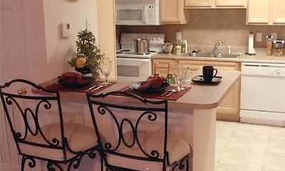 Kitchen, Dillon Trace Apartments, 2