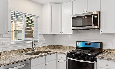 Kitchen, Glenbrook Apartments, 1