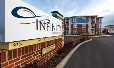 Community Signage, Infinity Apartments at Centerville Crossing, 2