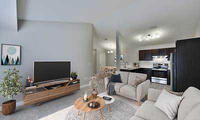 Living Room, Whispering Ridge, 0