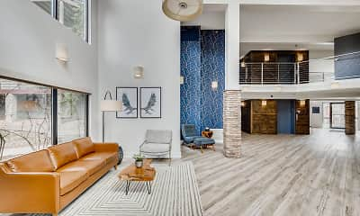 Living Room, Helix Apartments, 0