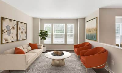 Living Room, Landmark at Bella Vista Apartment Homes, 2