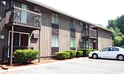 Building, Arbor Heights Apartments, 1