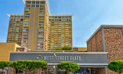 Community Signage, West Street Flats, 1