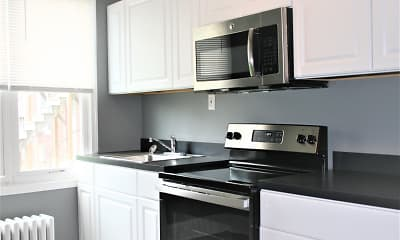 Kitchen, Foundry by the Park Townhomes, 1
