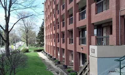 Courtyard, The Apartments on 2nd Street, 0