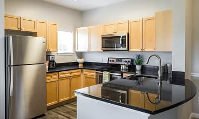 Kitchen, The Ridge Apartments, 0