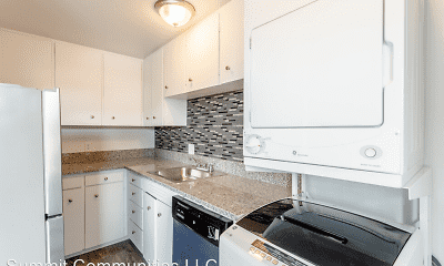 Kitchen, Knight Apartments in Downtown Greeley, 2
