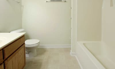 Bathroom, Charles Pointe Apartments, 2