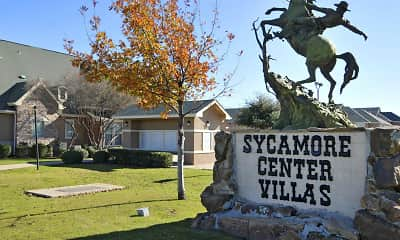 Community Signage, Sycamore Center Villas, 2