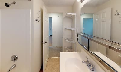 Bathroom, Lexington Manor Apartments, 2