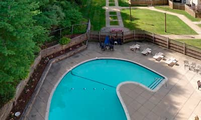 Pool, Mill House Apartments, 1