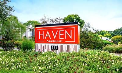 Community Signage, Haven, 0
