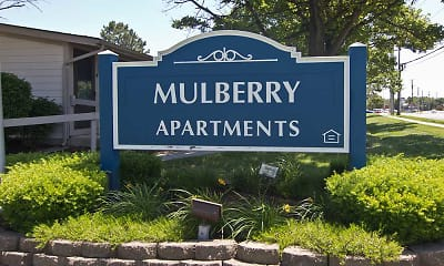 Community Signage, Mulberry Apartments, 2