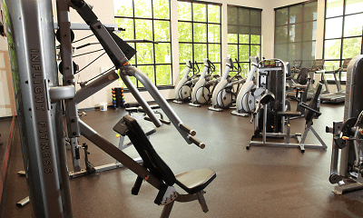 Fitness Weight Room, Toftrees Apartments, 2