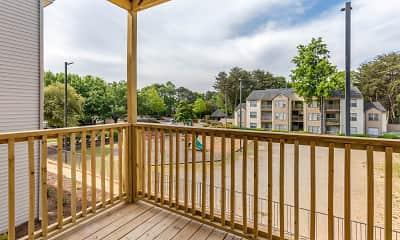 Patio / Deck, Landmark at Bella Vista Apartment Homes, 2