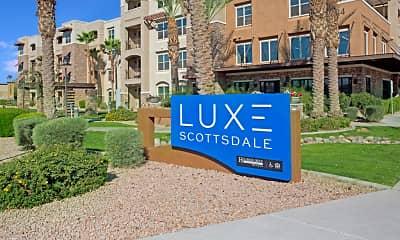 Community Signage, Luxe Scottsdale, 2