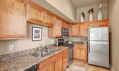 Kitchen, The Vintage Apartment Homes, 0