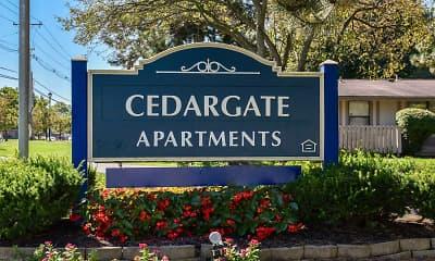 Community Signage, Cedargate, 0