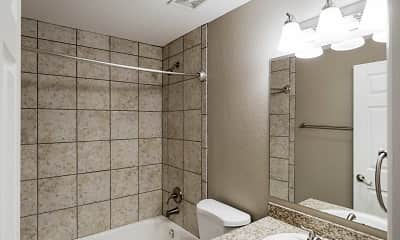 Bathroom, Girard at Cherry Hills, 1