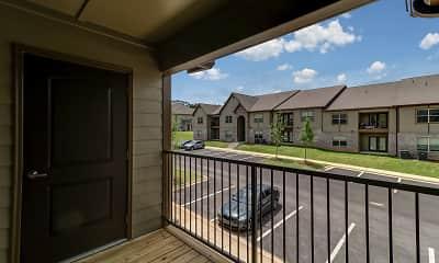 Patio / Deck, Grove Park Apartments, 2