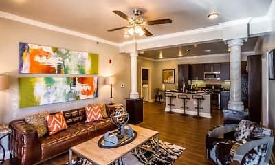 Living Room, Arlo Luxury Apartment Homes, 1