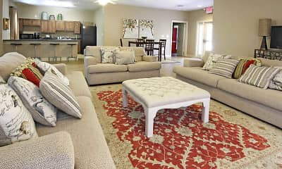 Clubhouse, Lafayette Garden Apartments, 1